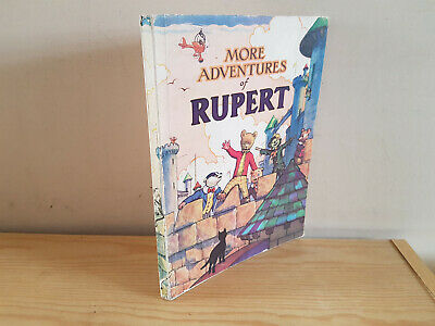 RUPERT ANNUAL 1942 original book  - very nice condition
