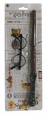 Rubie's IT5374 - Harry Potter Kit accessori, Bacchetta magica e occhiali, Taglia