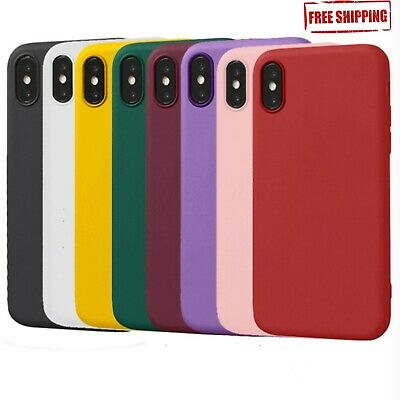 Matte Transparent Ultra-Thin Slim Case Cover Skin for iPhone X Xs/Max, 8 PLUS,xr