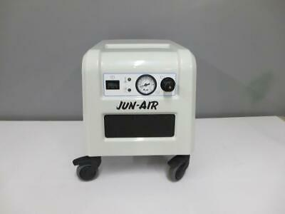 Jun-Air Model 85R-4P Compact Quiet Oil-Free Dental Air Compressor