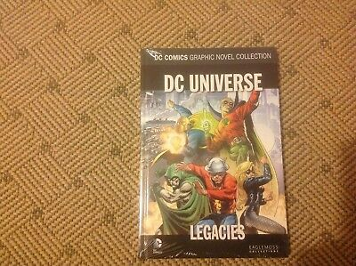 dc comics graphic novel collection DC UNIVERSE LEGACIES SPECIAL EDITION