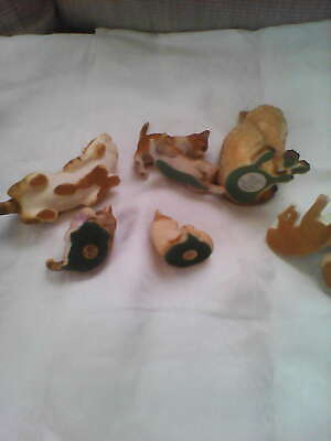 Collection Of  Cat Ornaments Various Styles 3 Quarry Critters