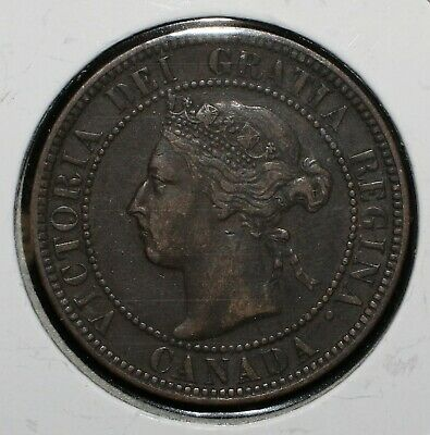 1897 Canada One Cent - 03954