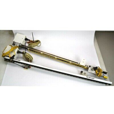 Magstar Quickdraw White Industrial Conveyor Assemblies Left/Right 39-Inch Length