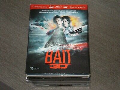 Blu-ray Bait 3D + 2D FOURREAU RELIEF 3D CARTONNE