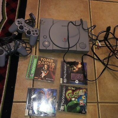 OriginalSony Playstation 1 Console Bundle tested