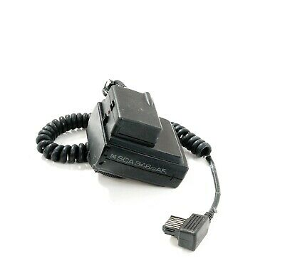Metz Flash Sca 346/2 Af Adapter For Nikon Cameras Working Condition