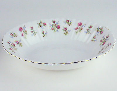 Oval Serving Bowl Royal Albert Winsome vintage bone china England roses reduced