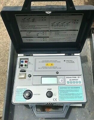 AMPROBE GROUND PROBE Resistance Earth Ground Tester Meter Model GP-1