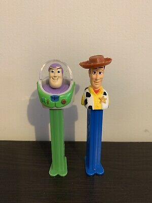 Toy story PEZ. Buzz And Woody