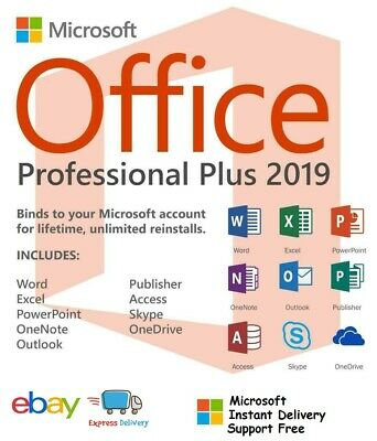 Details zu  Microsoft Office 2019 Professional Plus MS PRO Plus Email Download