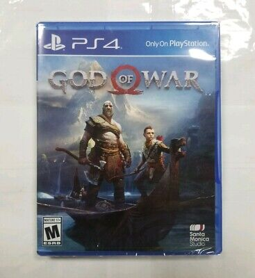 "God of War (Sony PlayStation 4, 2018) ""NEW/SEALED"""