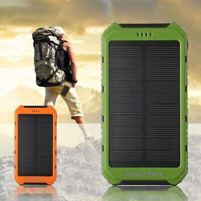 18000mAh Solar Panel Battery Power Bank  2A 1A Portable mobile Phone Charger  FZ