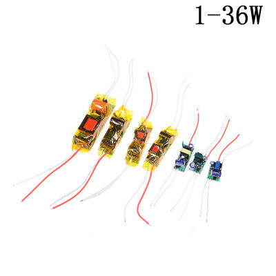 1-36W LED Driver Input AC100-265V Power Supply Constant Current for LED Lamp JR