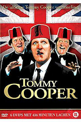 Tommy Cooper Collection NEW PAL Classic 6-DVD Set Royston Mayoh