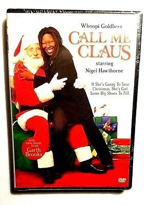 Call Me Claus (DVD, 2001) Factory Sealed