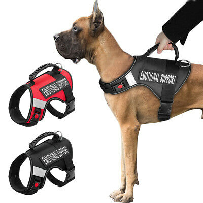 Power Harness Strong Adjustable&Reflective Dog Puppy Harnesses Service S/M/L/XL
