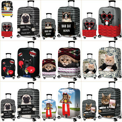 "18"" -32"" Cute Cartoon Travel Luggage Cover Protector Suitcase Spandex Skin Cover"