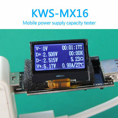 USB Multi Function Tester Voltmeter Ammeter Current Voltage Capacity Monitor ga
