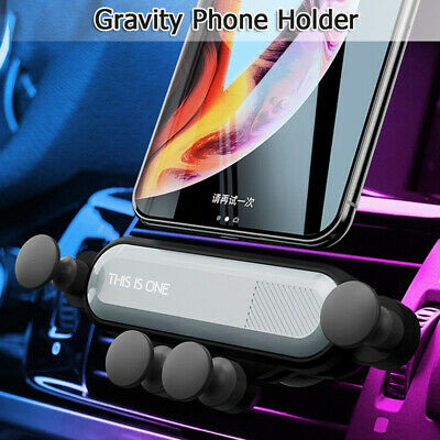Universal 360° Gravity Car Air Vent Mount Holder Stand Cradle Mobile Cell Phone