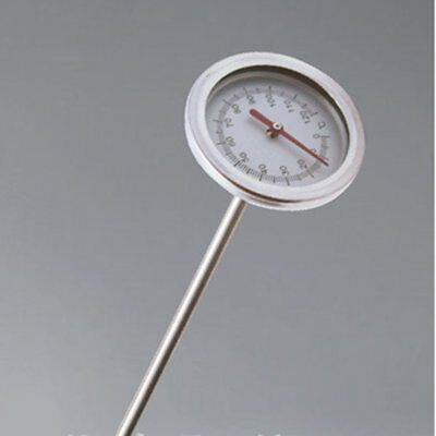 20 Inch Compost Soil Thermometer Premium Stainless Steel Metal Probe Detector fg