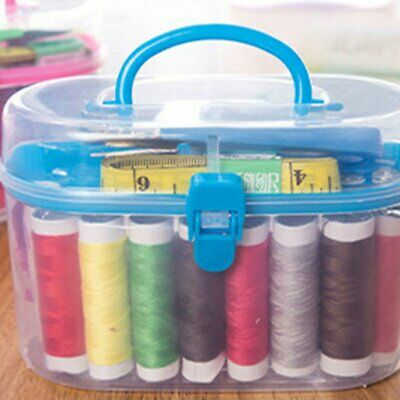 Sewing Box Multi-function Travel Sewing Kit Needle Thread Threader Tape IN