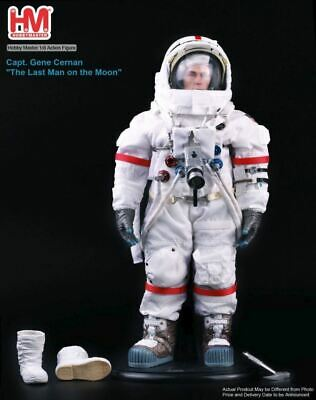 Captain Apollo 17 Eugene Sanan Hobby Master 1/6 Action Figure moon From Japan