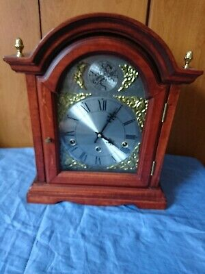 A Westminster Chime Mantel Clock, Garrards Mechanism