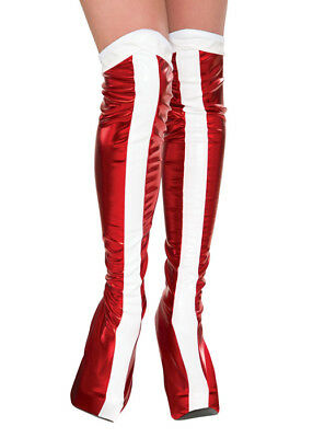 Wonder Woman Red Boot Covers
