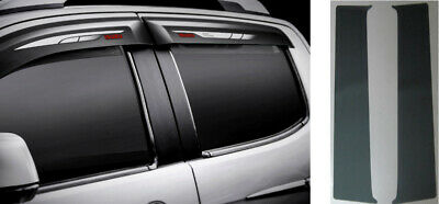 Genuine Isuzu D-Max Black Pillar Trim Kit (Double Cab)