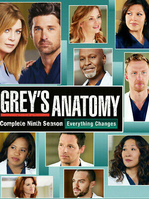 Grey's Anatomy - Complete Season 9 (2012-2013) | NEW & SEALED DVD BOX SET