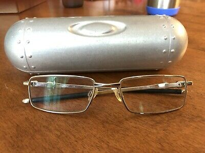 ef40bb705a5e Eyeglass Frames Oakley Chisel 2.0 Titanium Gold 53mm Glasses + Oakley Case