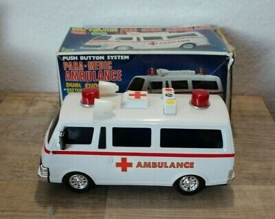 Vintage Spielzeug PARA-MEDIC AMBULANCE - ALPS Toy Japan