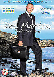 *NEW*  Doc Martin - Series 3 - Complete (DVD, 2-Disc Set) . FREE UK P+P ........