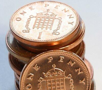 1p Pence Penny Coin UK Decimal Including Rare Coins