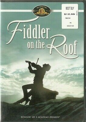 Fiddler On The Roof DVD NEW Sealed MGM 2007