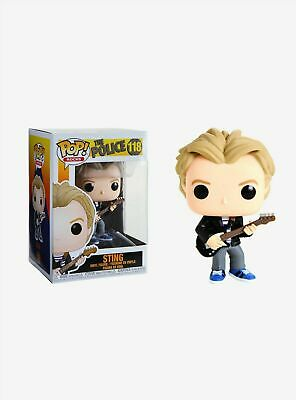 Funko Pop! Rocks: The Police - Sting 118 40087 Vinyl Figure In Stock