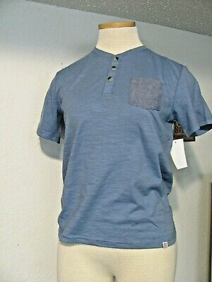 Sovereign Code Boys Shirt From Nordstrom Rack ~ Nwt ~3 Button & Pocket~Blue  (8)