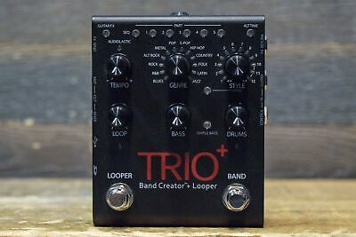 DigiTech Trio+ Band Creator + Looper and Built-In Effects Guitar Effect Pedal