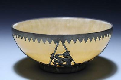 Antique Chinese Jade/Hardstone Bowl,Early 20th C.