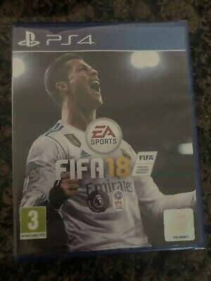 Brand New Ps4 Fifa 18 Game