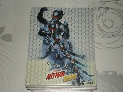 Blu-ray Steelbook Ant-Man et la Guepe 3D MARVEL NEUF SOUS BLISTER