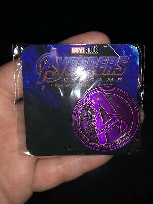 Avengers Endgame Rare Fan Event opening Night Promo Coin (In Hand)