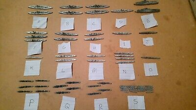 ITALIAN FLEET PAINTED Mix 1/3000 Navwar Skytrex Wargame Miniatures