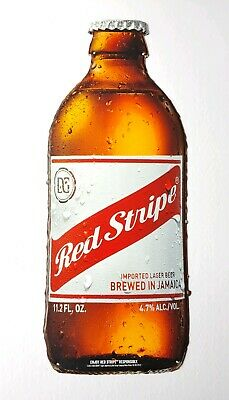 2 RED STRIPE LAGER JAMAICAN BEER FLORIDA CAN CANVAS COOLERS//LUNCH BAGS INSULATED