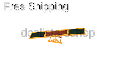 PawHut 1.8m Wooden Pet Seesaw Activity Sport Dog Training Agility Obedience E...