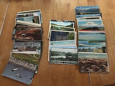 Antique Vintage Lot of Postcards ~ 50 RANDOM Postcards from the 1930 to 1980's