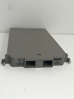 New Keithley 7702 40 CHANNEL DIFFERENTIAL MULTIPLEXER