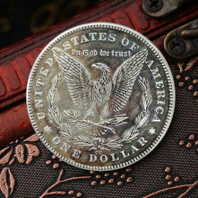 Iron Plated Gold 1936 Double Mushroom Silver Dollar 38*2 Commemorative-coin K6F2