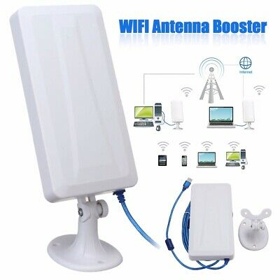 Long Range WiFi Extender Outdoor Wireless Router Repeater WLAN Antenna Booster